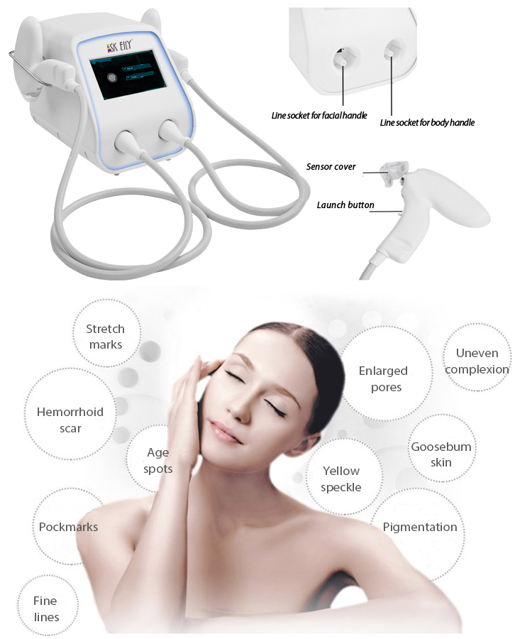 SK-FN02-1 Thermal Microneedle Fractional Skin Rejuvenation Beauty Machine